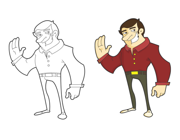 Tutsplus Character Design Download : Maintaining rhythm and flow in vector character design