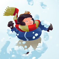 Preview for Winter Vector Inspiration and Snowy Resources