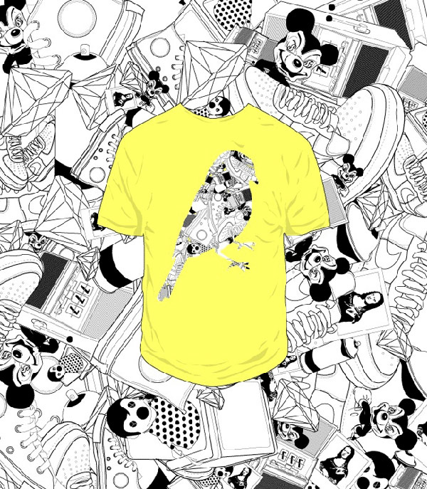 30 Kick-Ass Vector Based T-Shirts from Top Designers