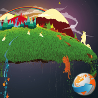Preview for Organic Climate Changing Wallpaper by Ben the Illustrator