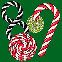 Candy cane brush 200x200