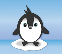 Preview for Cute Vector Penguin Freebie