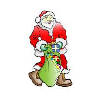 Preview for Santa Claus Vector