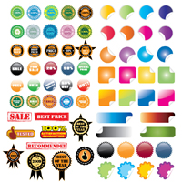 Preview for 40+ Free Vector Stickers