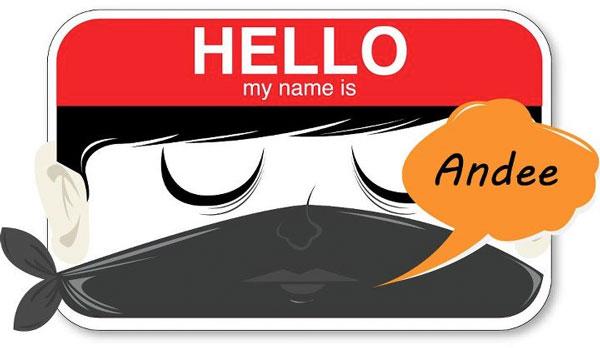 cool name tag design - Name Tag Design Ideas