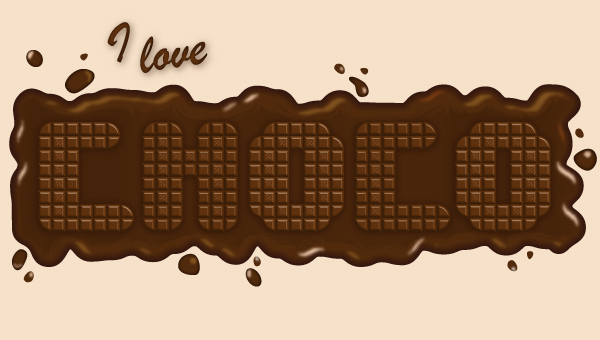 Link toQuick tip: how to create a delicious chocolate text effect