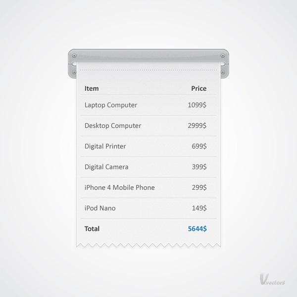 Quick Tip How To Create A Receipt Illustration In Adobe