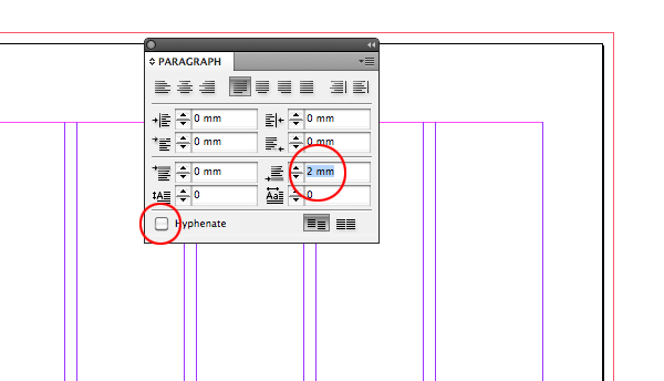 how to choose color in indesign