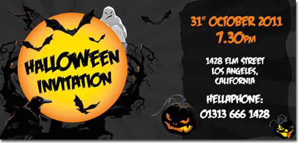 Quick tip: designing a halloween invitation with indesign
