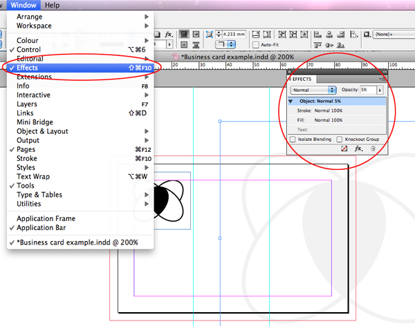 how to draw a table indesign