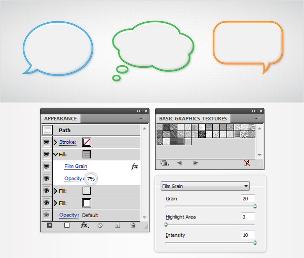 Quick Tip Create A Speech Bubbles Set With The Appearance