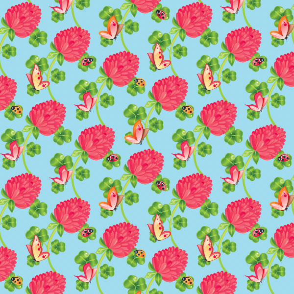 Quick tip: how to create a floral repeating pattern