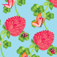Quick Tip How to Create a Floral Repeating Pattern