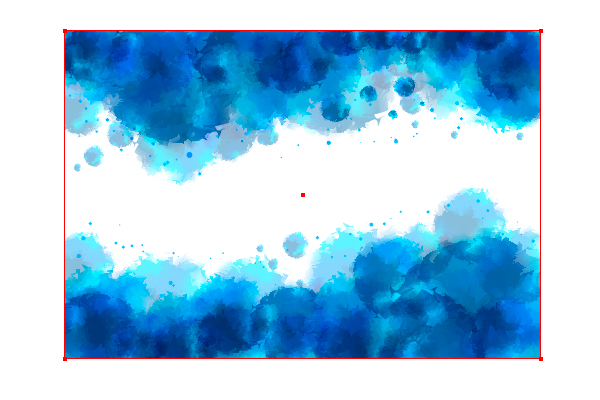 How To Create A Cool Blue Water Color Background Tutorial