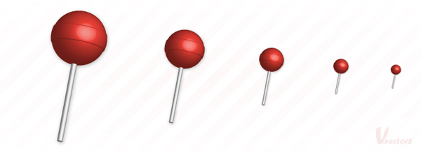 Link toQuick tip: how to create a simple 3d lollipop icon