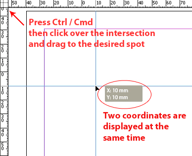 how to change ruler margin on pages