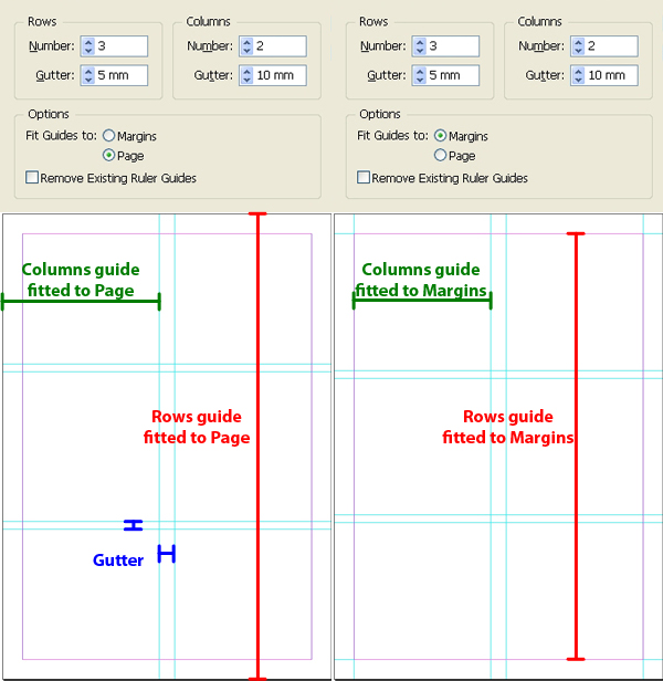 Quick tip working with rulers and guides in adobe indesign for What is the difference between space and place