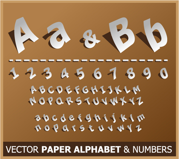 Link toQuick tip: how to create a paper style alphabet using illustrator 3d