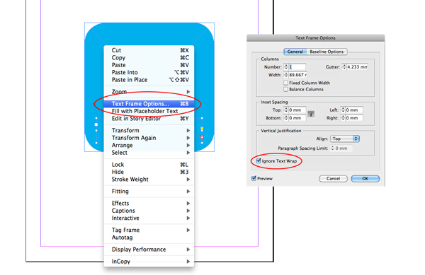 Quick tip eleven tricks that will help your workflow in indesign select the text frame right click and go to text frame options tick ignore text wrap box this tip can be useful for placing captions or photo publicscrutiny Choice Image