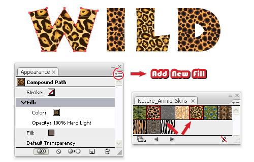 Quick Tip: Create an Animal Print Text Effect with Adobe