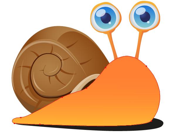 Resultado de imagen de snail cute