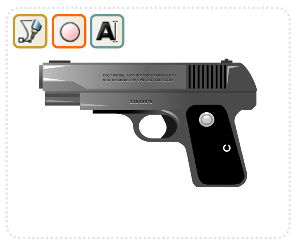 Link toQuick tip: how to create a classic handgun with inkscape