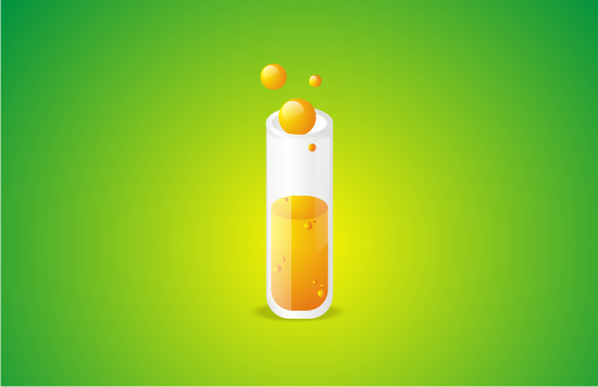 Link toQuick tip: create a glossy test tube icon using coreldraw