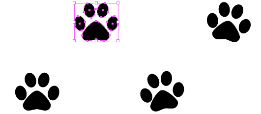 Quick Tip How To Create A Simple Paw Print Scatter Brush In Adobe