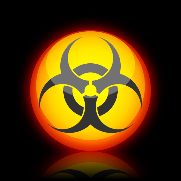 Quick Tip How To Create A Glossy Biohazard Icon