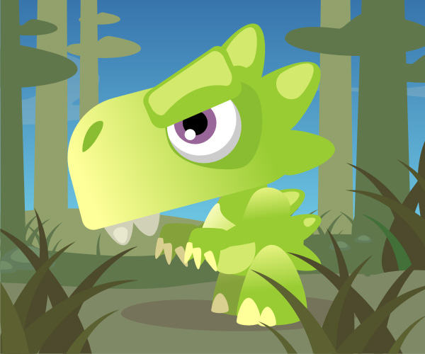 Link toQuick tip: how to create a cute cartoon dinosaur