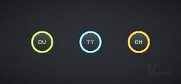 Quick tip: create a set of glowing buttons in adobe illustrator
