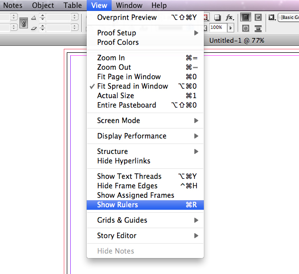 quick tip creating a french fold template in indesign rh design tutsplus com create a guide in illustrator create a guide in illustrator