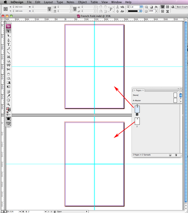 Quick Tip: Creating a French Fold Template in InDesign