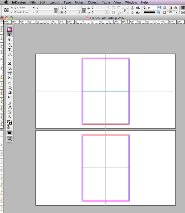 Quick Tip Creating A French Fold Template In Indesign