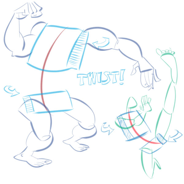 Drawing Lines In Qt : Quick tip the line of action make your character poses