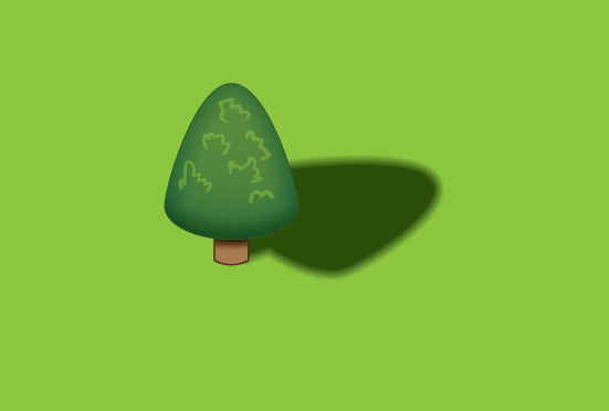 Quick Tip: 100% Vector Drop Shadow with Illustrator CS6