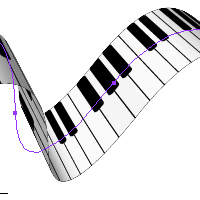 Preview for Quick Tip: Create a Piano Keyboard Ribbon Using 3D Effects