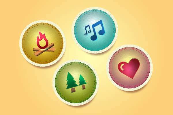 Link toQuick tip: how to create vector camp badges