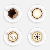 Preview for Quick Tip: How To Create a Cup Of Coffee in Top View