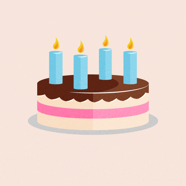 Link toQuick tip: create a retro-inspired stylized birthday cake