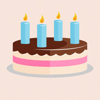 Preview for Quick Tip: Create a Retro-inspired Stylized Birthday Cake
