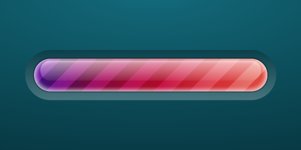 Link toCreate a brightly colored progress bar using transparency settings and the appearance panel