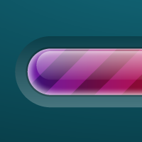Preview for Create a Brightly Colored Progress Bar Using Transparency Settings and the Appearance Panel