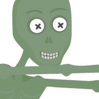 Preview for Create a Cheeky Zombie with Basic Shapes and the Shape Builder Tool