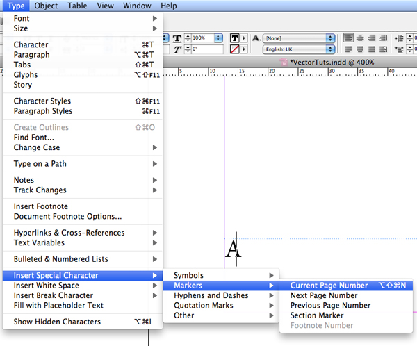 Character Design Classes In Nyc : How to add basic page numbering in indesign solved