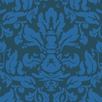 Preview for Quick Tip: Create a Damask Pattern Using the MadPattern Illustrator Template