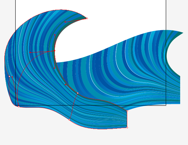 how to draw a wave in illustrator