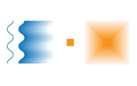 Transparent gradient image illustrator