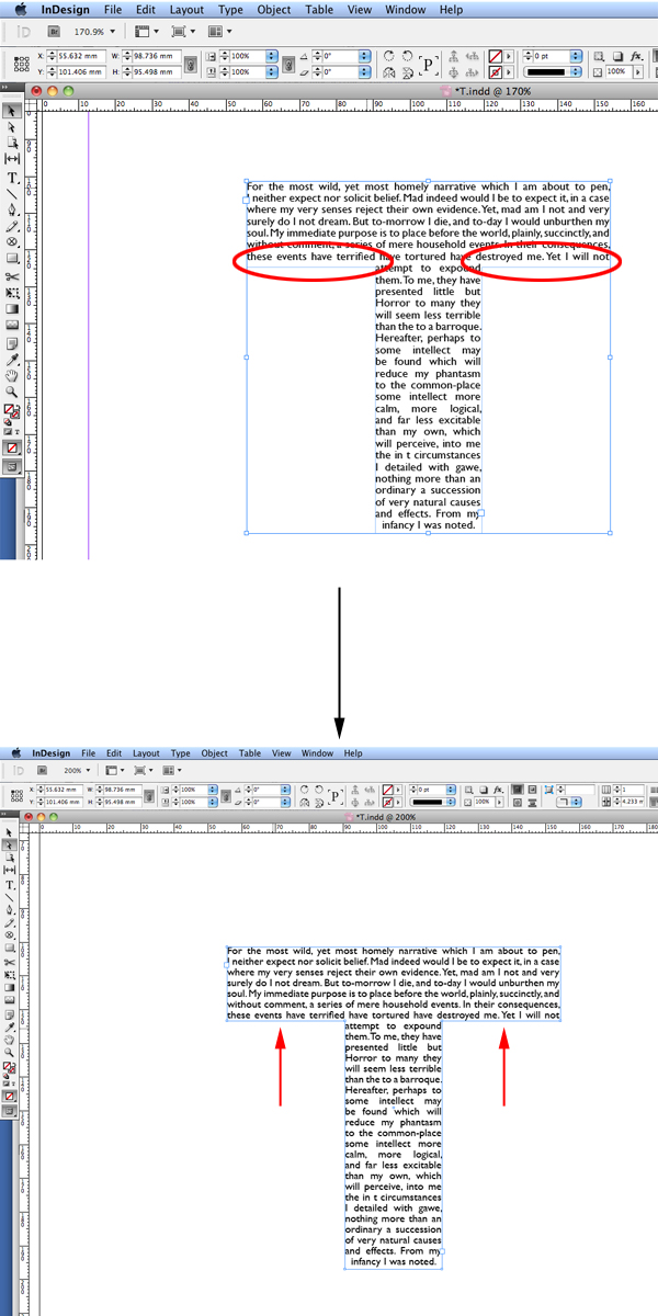 Quick Tip Creating A Custom Text Box Using Type And Indesign