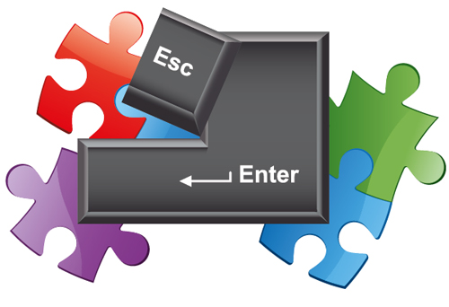 Link toQuick tip: create a puzzle with the new shape builder tool in illustrator cs5